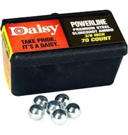 DAISY POWERLINE SLINGSHOT AMMO 1/4""