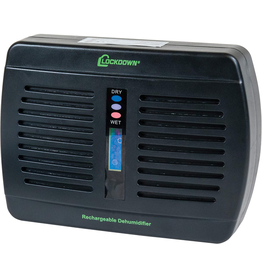 LOCKDOWN RECHARGEABLE DEHUMIDIFIER