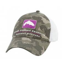 SIMMS FISHING SIMMS SMALL FIT TROUT TRUCKER CAMO