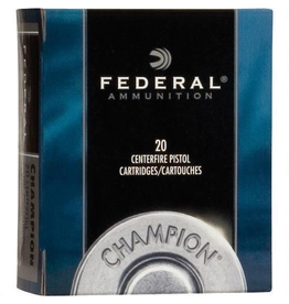 FEDERAL FEDERAL 45 COLT 225 GR SEMI-WADCUTTER HOLLOW POINT