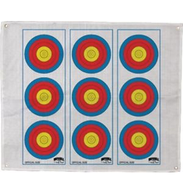 MORRELL MORRELL 724 VERTICAL THREE SPOT COLOR TARGET FACE