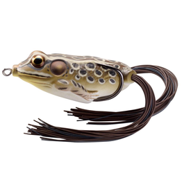 "KOPPERS KOPPERS LIVE TARGET HOLLOW BODY FROG 2"" TAN/BROWN"
