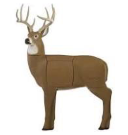GLENDEL FULL RUT BUCK W/ 4 SIDED CORE & STAND