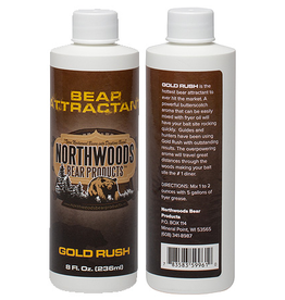 NORTHWOODS BEAR PRODUCTS NORTHWOODS BEAR PRODUCTS GOLD RUSH 8FL OZ ATTRACTANT