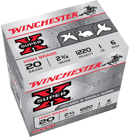 WINCHESTER WINCHESTER SUPER X 20GA 2 3/4 1 OZ #6 SHOT 25 RDS
