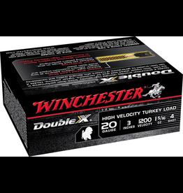 """WINCHESTER WINCHESTER DOUBLE X #4 20GA 3"""" TURKEY LOAD"""