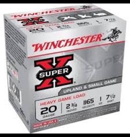 """WINCHESTER WINCHESTER 20 GA 2.75"""" 1 OZ #7.5 HEAVY GAME LOAD"""