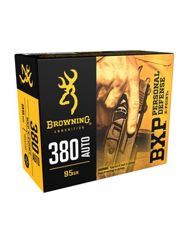BROWNING BROWNING BXP 380 AUTO 95 GR JHP 20 RDS