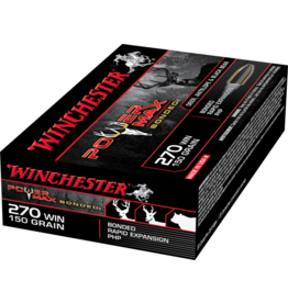 WINCHESTER WINCHESTER 270 WIN 150GR POWER MAX BONDED 20RDS