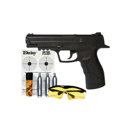 DAISY POWERLINE 415 21 SHOT BB CO2 SEMI-AUTOMATIC W/ KIT
