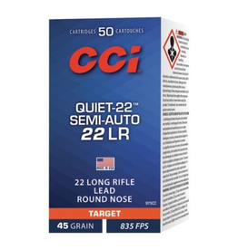 CCI CCI QUIET 22 LR SEMI-AUTO QUIET 40GR 50 RDS