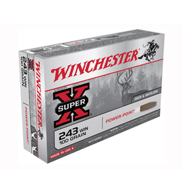 WINCHESTER WINCHESTER 243 100GR POWER POINT 20 RDS