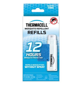 THERMACELL THERMACELL MOSQUITO AREA REPELLENT REFILLS 1 BUTANE AND 3 MATS