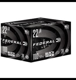 FEDERAL FEDERAL BLACK PACK 22 LR 38 GR 1100 RDS