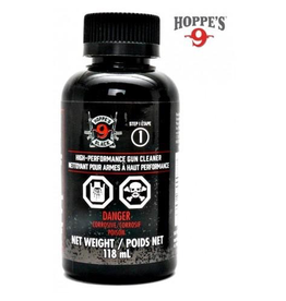 HOPPE'S HOPPE'S HIGH PERFORMANCE GUN CLEANER 118 ML STEP 1