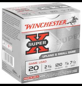 """WINCHESTER WINCHESTER 20 GA 2.75"""" 7/8 OZ #7.5 25 RDS"""