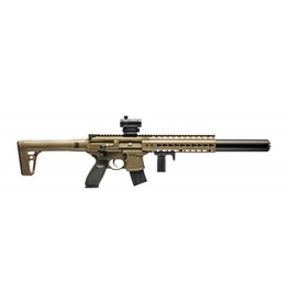 SIG SAUER SIG MCX ADVANCED SPORT PELLET AIR RIFLE FDE .177 CAL W/ 1x20 MM MINI RED DOT