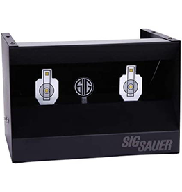 SIG SAUER SIG SAUER DUAL SHOOTING GALLERY RESETTING PELLET TRAP SYSTEM