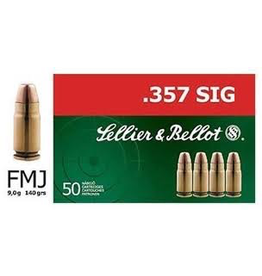 SELLIER & BELLOT SELLIER & BELLOT C.357 140GR FMJ
