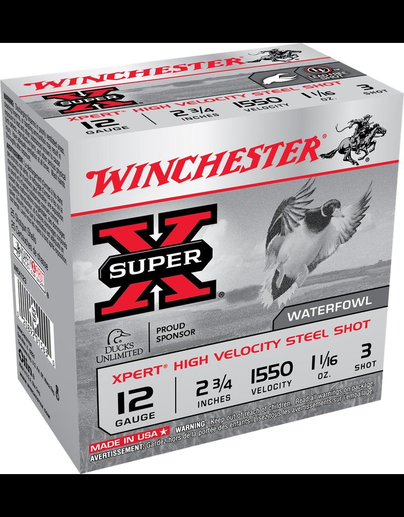 "WINCHESTER WINCHESTER 12GA 2.75"" 1.1/16oz #3 HV STEEL 25 RDS"