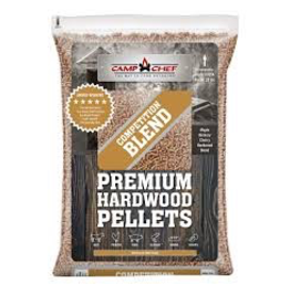 CAMP CHEF CAMP CHEF COMPETITION BLEND PREMIUM HARDWOOD PELLETS 20LBS