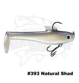 BASS MAGNET LURES SHADZILLA JR 2PK