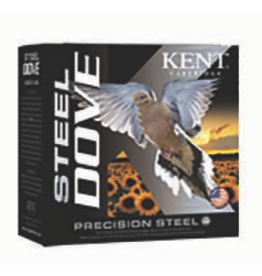 "KENT CARTRIDGE KENT CARTRIDGE STEEL DOVE 20 GA 2 3/4"" 7/8 OZ 1400 FPS-6 25 RDS"