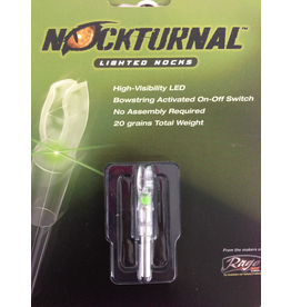RAGE ARCHERY RAGE NOCKTURNAL GREEN S SERIES SINGLE PACK