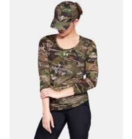 UNDER ARMOUR UNDER ARMOUR WOMEN'S EARLY SEASON LS T, FOREST CAMO(940), XL