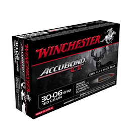 WINCHESTER WINCHESTER ACCUBOND CT 30-06 SPRG 180GR 20 RDS