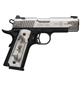 BROWNING BROWNING 1911-380 MEDALLION STAINLESS ENGRAVED/COMPACT