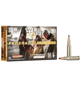 FEDERAL FEDERAL PREMIUM 308 WIN MEATEATER 150 GR 20 RDS