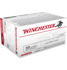 WINCHESTER WINCHESTER 38 SPECIAL 130GR FMJ 100 RDS