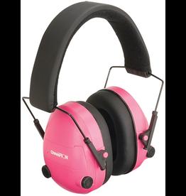 CHAMPION CHAMPION EAR MUFFS ELECTRONIC PINK