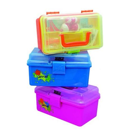 ZEBCO ZEBCO SPLASH TACKLE BOX ASSORTED COLORS