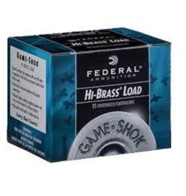 "FEDERAL FEDERAL HIGH BRASS LOAD 410 GA 3"" #7.5"