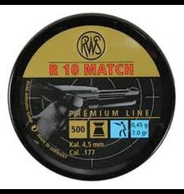 RWS RWS R10 MATCH CAL .177 7.0 GR 500 RDS
