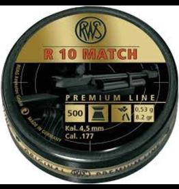 RWS RWS R10 MATCH CAL .177 8.2 GR 500 RDS