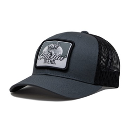CATCHIN' DEERS CATCHIN' DEERS WALLHANGER MESHBACK HAT-ON CHARCOAL/ BLACK