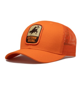 CATCHIN' DEERS CATCHIN' DEERS GIDDY UP MESHBACK HAT- BLAZE ORANGE