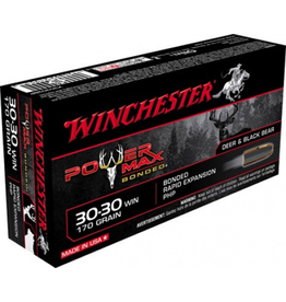 WINCHESTER WINCHESTER 30-30 WIN 170GR POWER MAX BONDED
