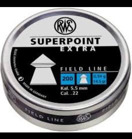 RWS RWS SUPERPOINT EXTRA PELLET .22 CALIBER 200CT