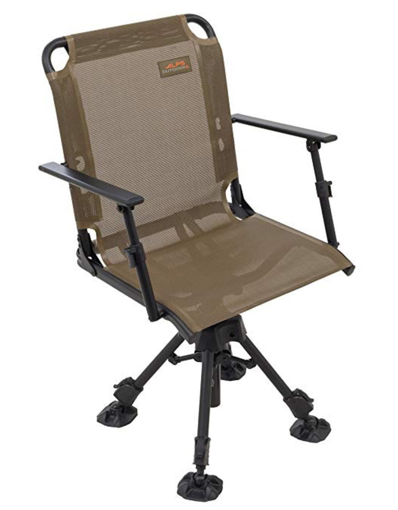 ALPS ALPS STEALTH HUNTER DELUXE 360' SWIVEL HUNTING SEAT BROWN