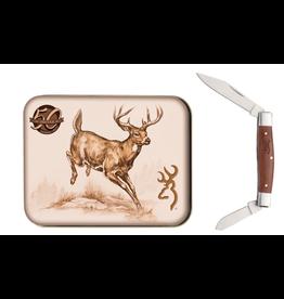 BROWNING BROWNING 50TH ANNIVERSARY BUCKMARK CLASSIC 310 FOLDING KNIFE