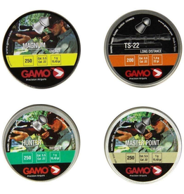 GAMO GAMO COMBO PELLETS PACK TS-22, MASTER POINT, HUNTER, MAGNUM 1000 ASSORTED