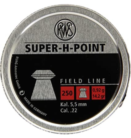 RWS RWS SUPER-H-POINT HUNTING AMMO  PELLET .177 CAL 200CT