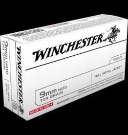 WINCHESTER WINCHESTER 9MM NATO 124 GR FMJ 500 RDS