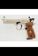 BERETTA BERETTA M 92 FS NICKEL/ WOOD 177 CAL PELLET GUN