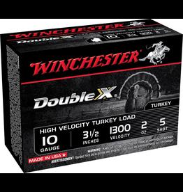 """WINCHESTER WINCHESTER DOUBLE X TURKEY LOAD 10 GA 3 1/2"""" 2 OZ #5"""