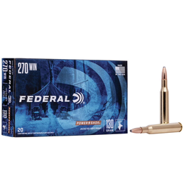 FEDERAL FEDERAL 270 WIN 130GR POWER SHOK SP RN